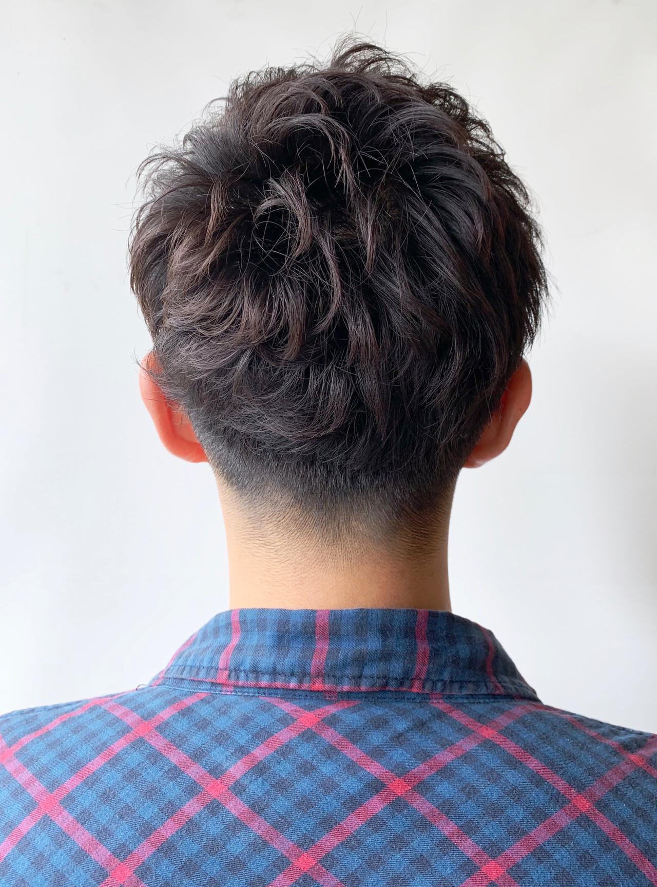 刈り上げ メンズショート メンズヘア ストリート ヘアスタイルや髪型の写真・画像 | 矢木 智浩/morio札幌 / moriofromlondon札幌ファクトリー店