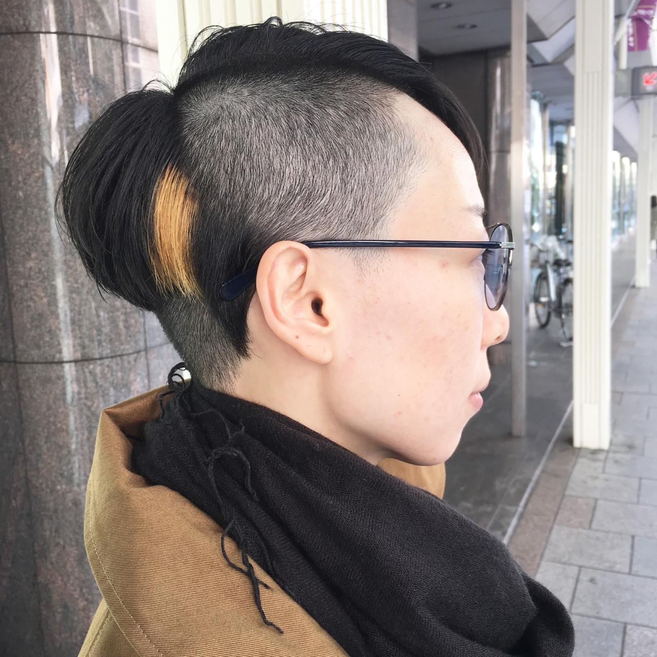 似合わせ モード 大人女子 刈り上げ ヘアスタイルや髪型の写真・画像   元橋啓太 / snob