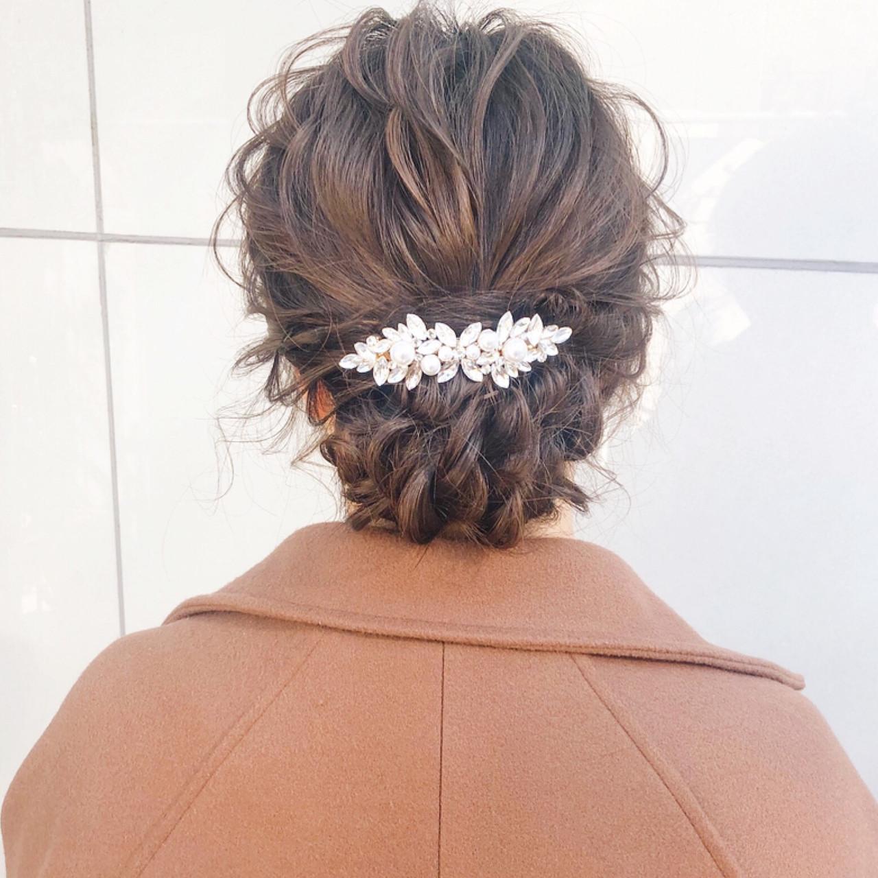 デート 簡単ヘアアレンジ アンニュイほつれヘア ロング ヘアスタイルや髪型の写真・画像