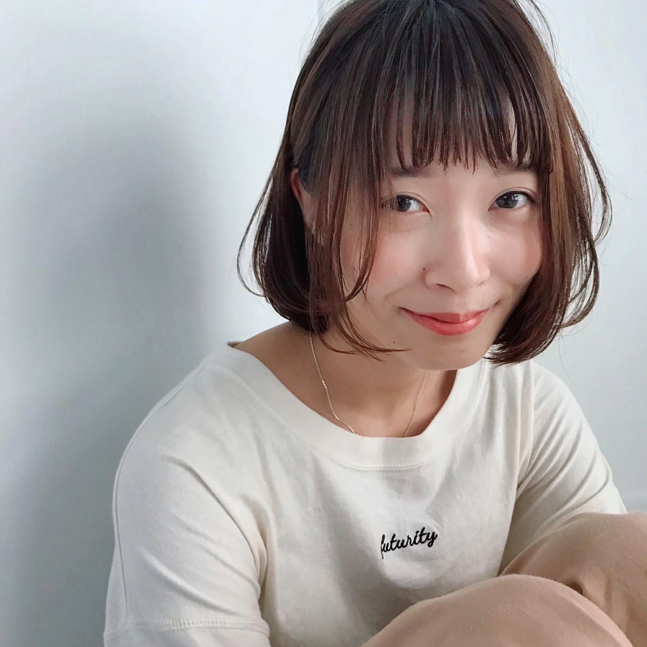 デート ボブ 成人式 モテ髪 ヘアスタイルや髪型の写真・画像 | 矢野佑太郎 / GARDEN harajuku