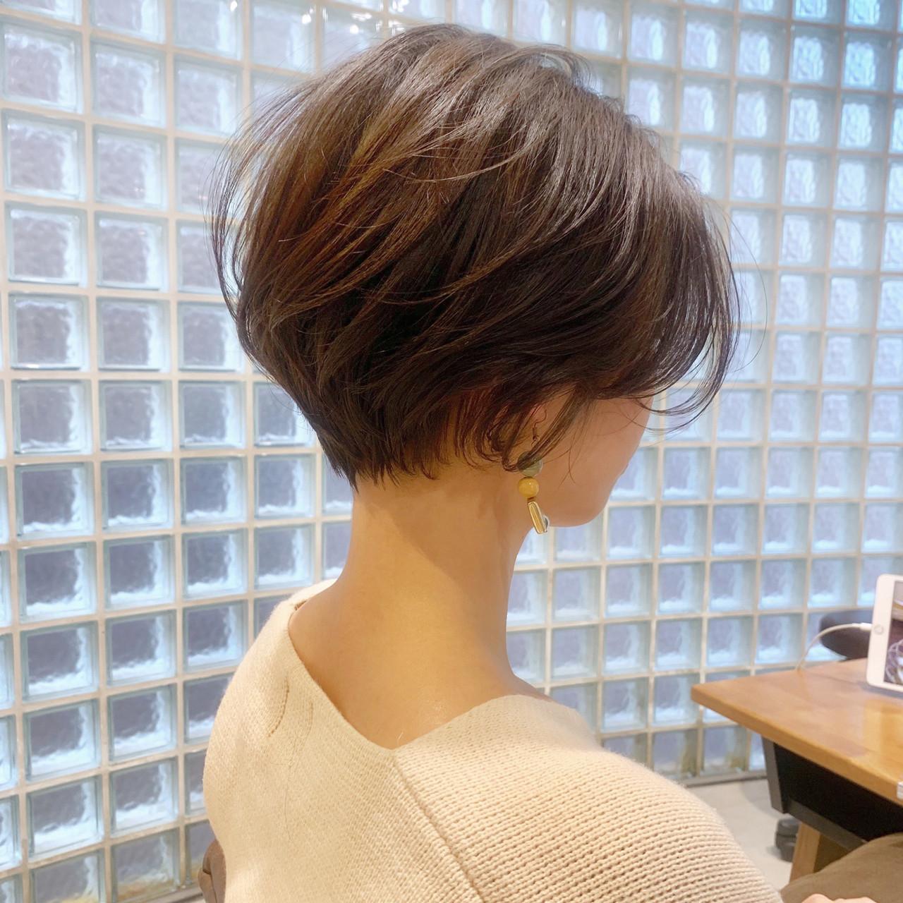 パーマ 簡単ヘアアレンジ ヘアアレンジ ショート ヘアスタイルや髪型の写真・画像