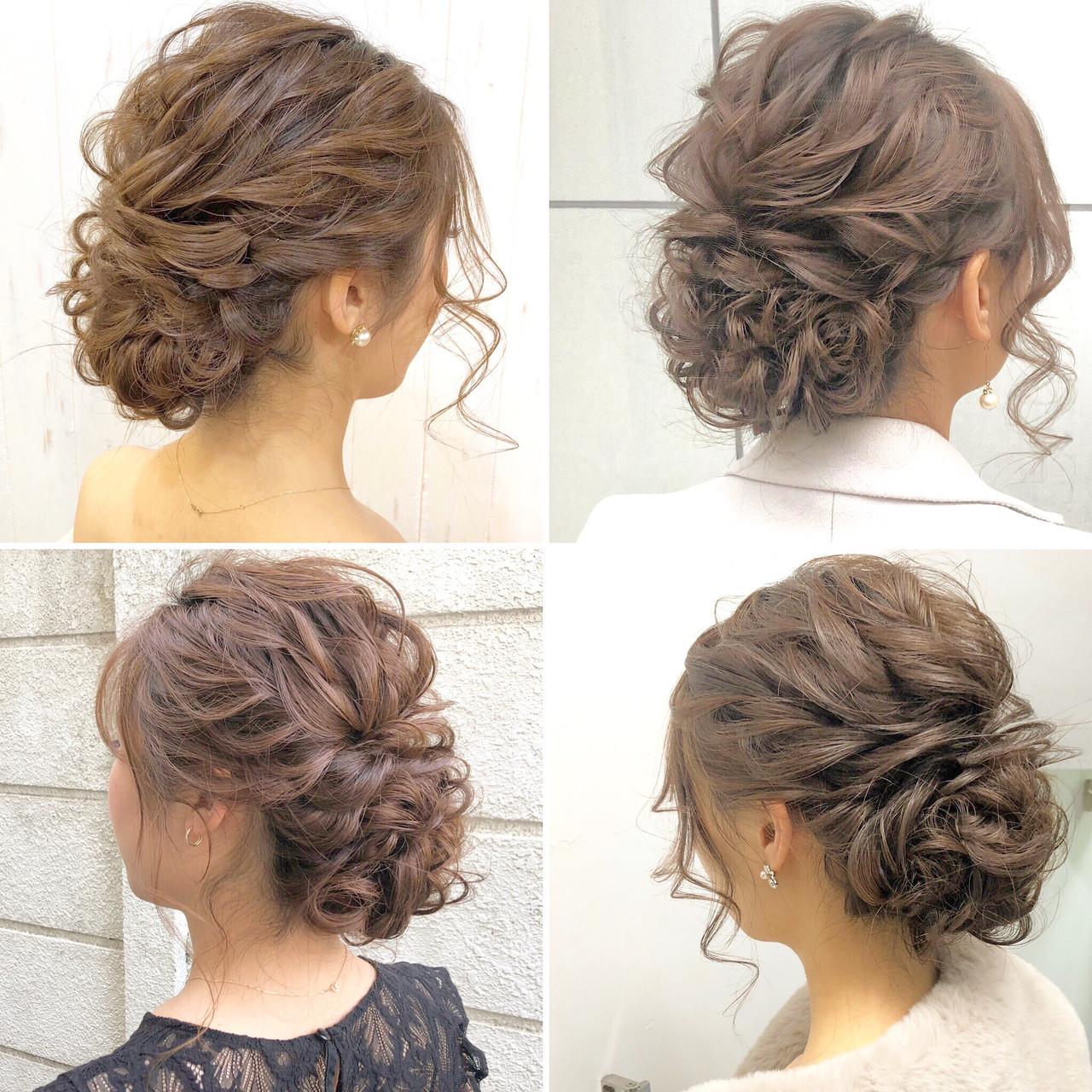 ロング アンニュイほつれヘア デート エレガント ヘアスタイルや髪型の写真・画像