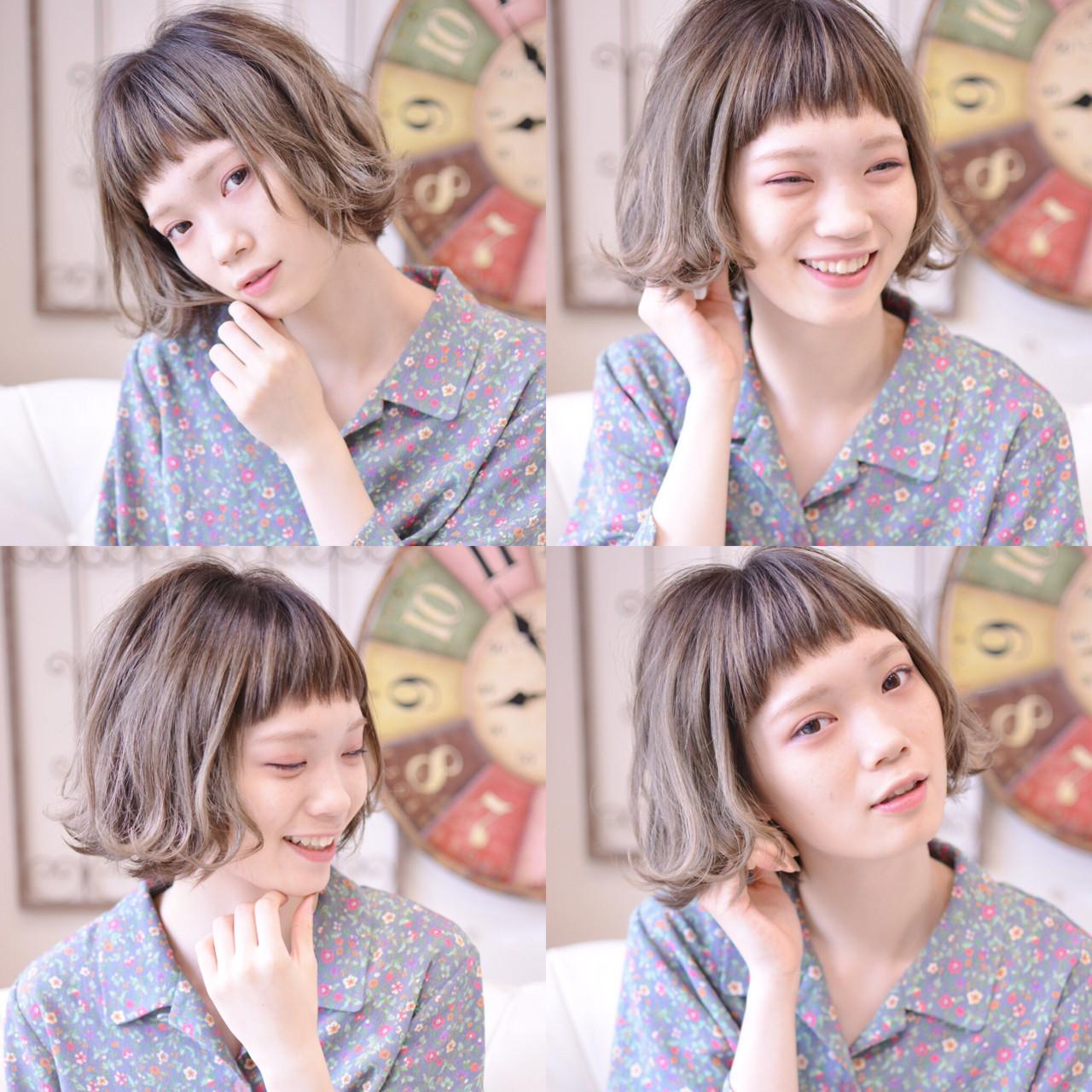 ガーリー ボブ 本田翼 ヘアスタイルや髪型の写真・画像 | Shiko Kajihara / メイズ