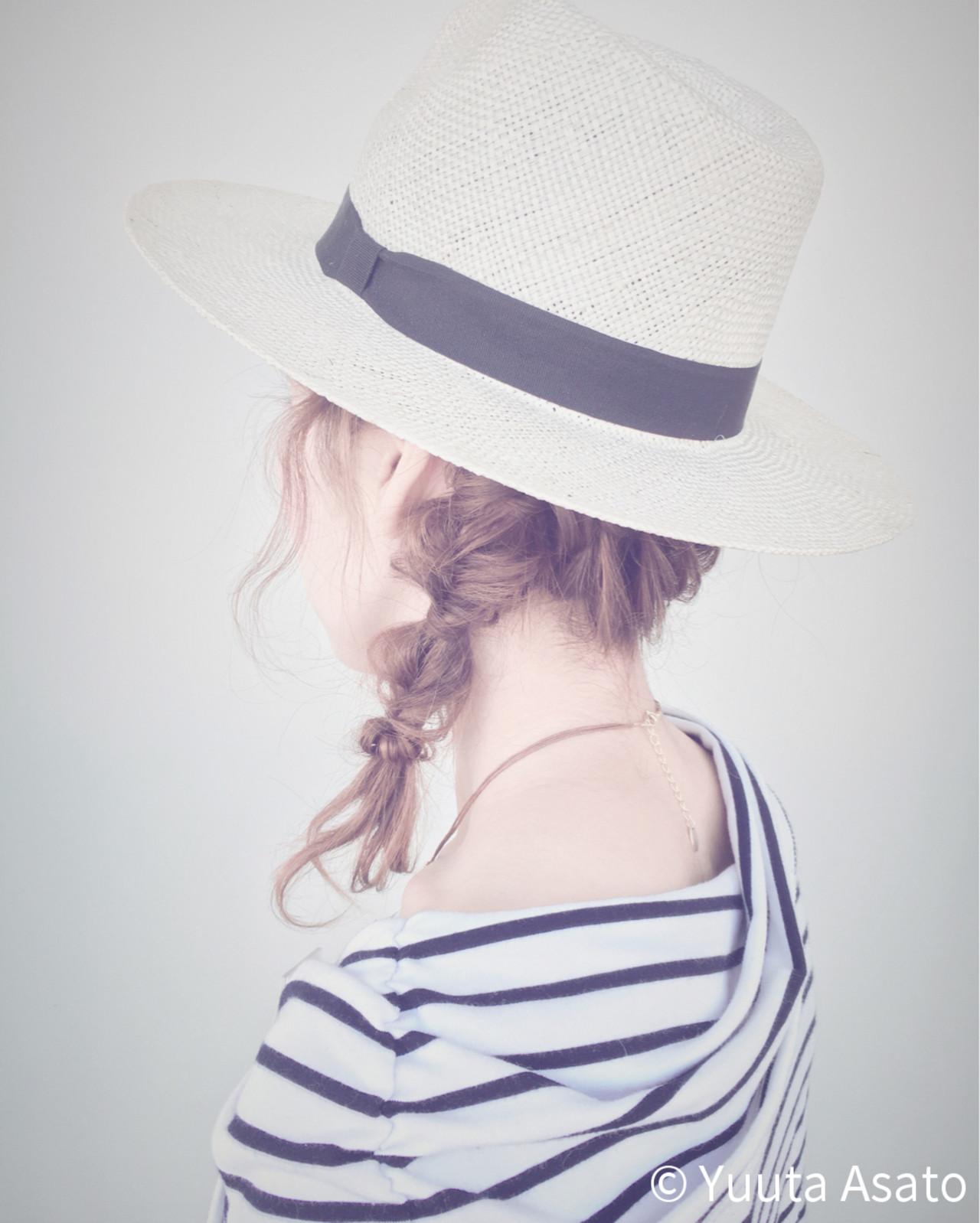 簡単ヘアアレンジ 夏 大人かわいい ヘアアレンジ ヘアスタイルや髪型の写真・画像