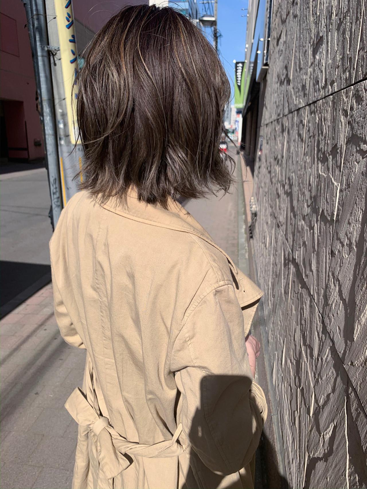 ショートボブ ボブ 切りっぱなしボブ アンニュイほつれヘア ヘアスタイルや髪型の写真・画像 | yumiko/sapporoSKNOW / SKNOW