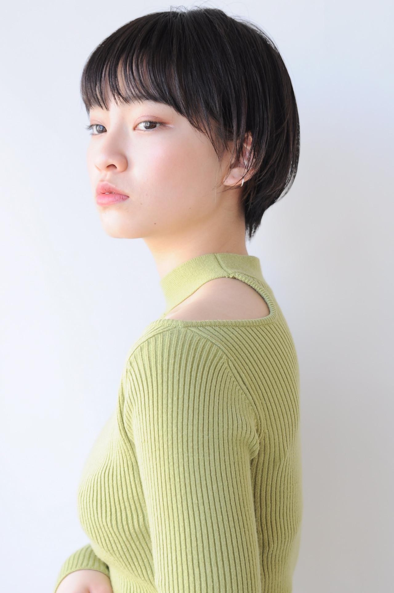 ベリーショート ナチュラル ショートボブ ショート ヘアスタイルや髪型の写真・画像   小椋聡太 / tricca