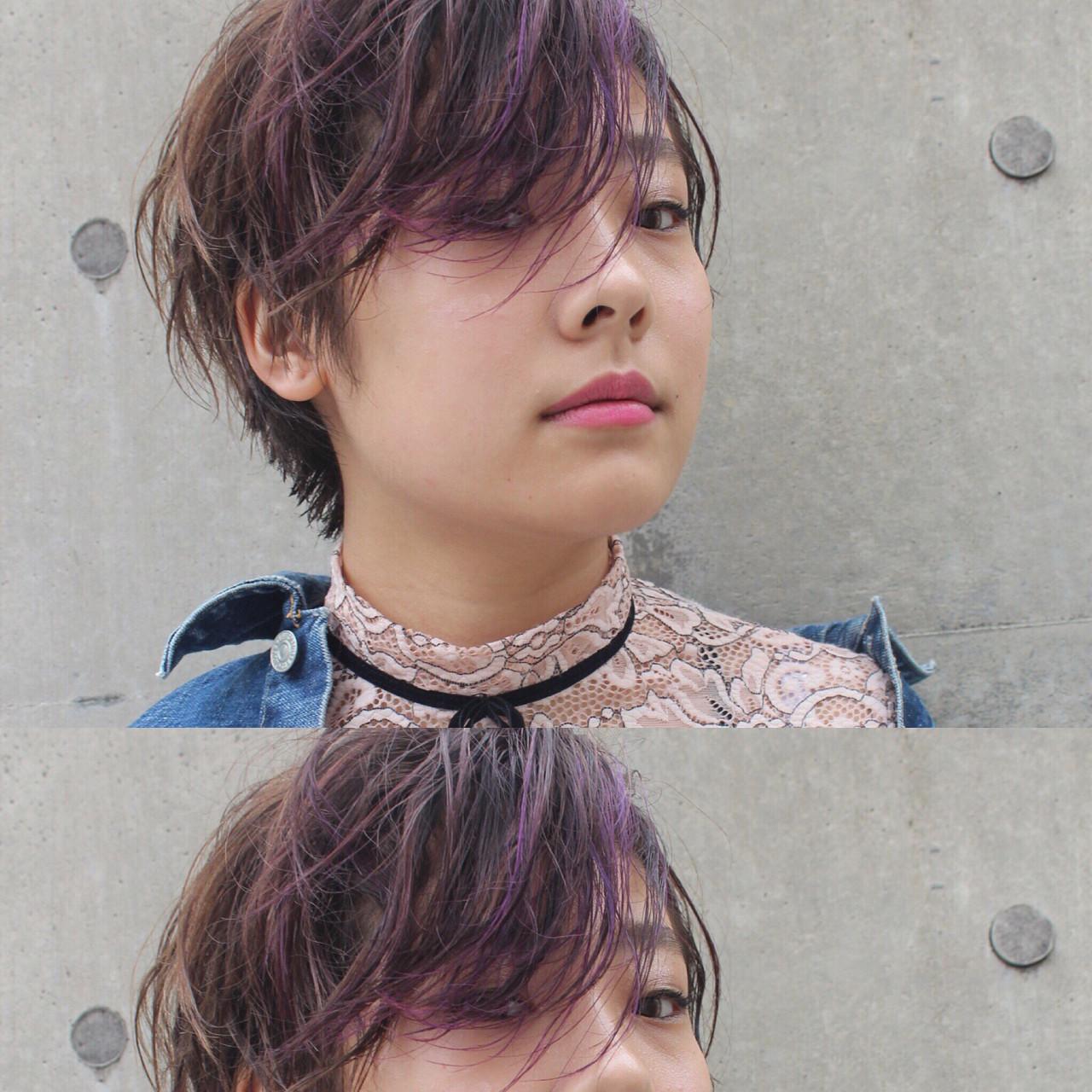 簡単ヘアアレンジ パーマ ヘアアレンジ ボブ ヘアスタイルや髪型の写真・画像 | bibito crew / bibito