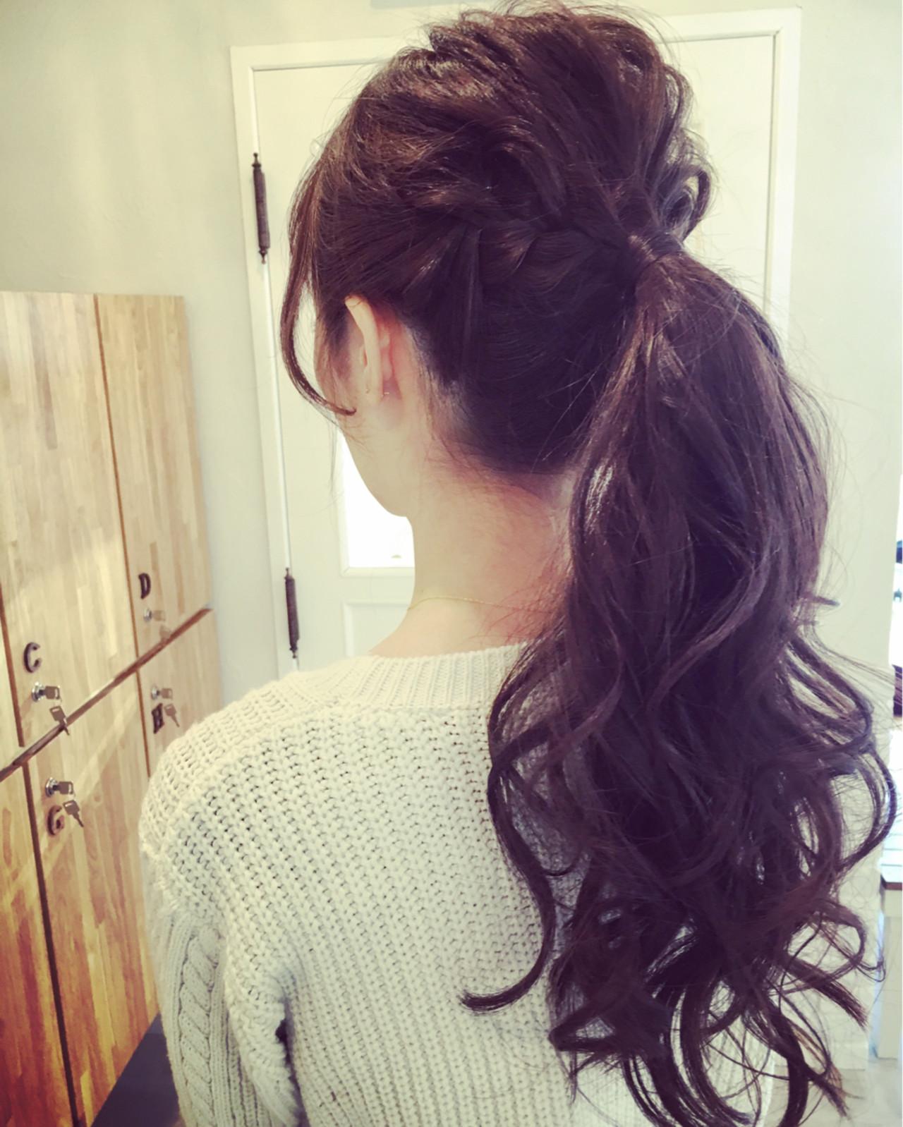 ロング 大人かわいい 外国人風 ヘアアレンジ ヘアスタイルや髪型の写真・画像 | SHOZU♡ / LiLy hair design リリィヘアデザイン