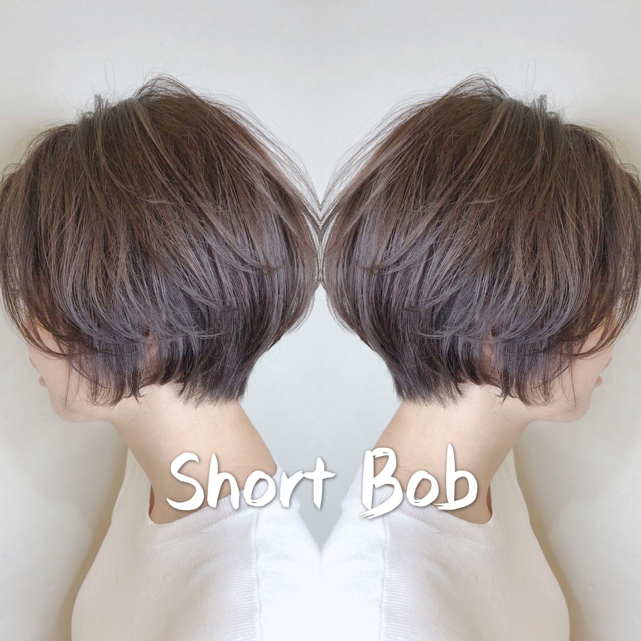 ショートヘア デート ハンサムショート 小顔ショート ヘアスタイルや髪型の写真・画像