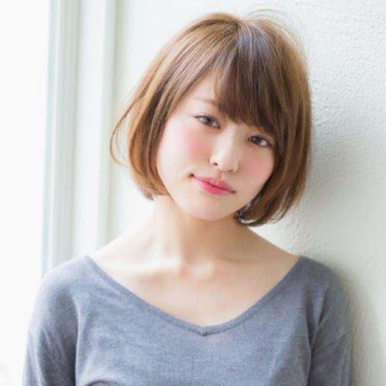 ショートボブ パーマ 外国人風 ボブ ヘアスタイルや髪型の写真・画像 | ボブで人気‼️ 増永 剛大/Un ami / Un ami omotesando