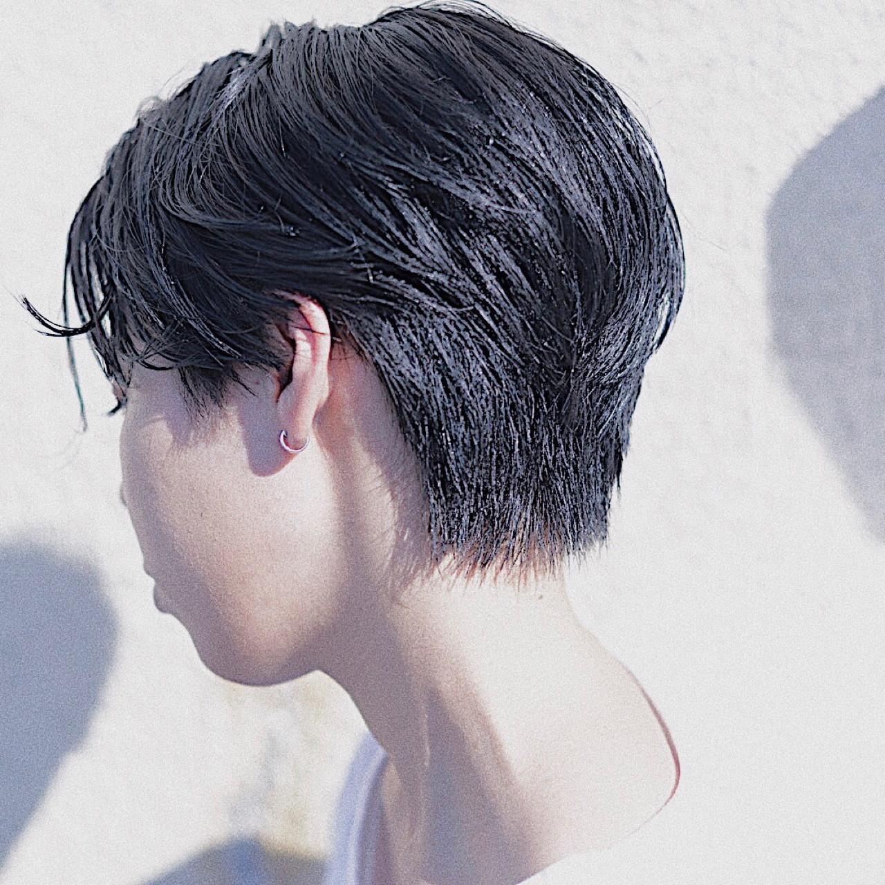 小顔 大人かわいい ナチュラル ショート ヘアスタイルや髪型の写真・画像