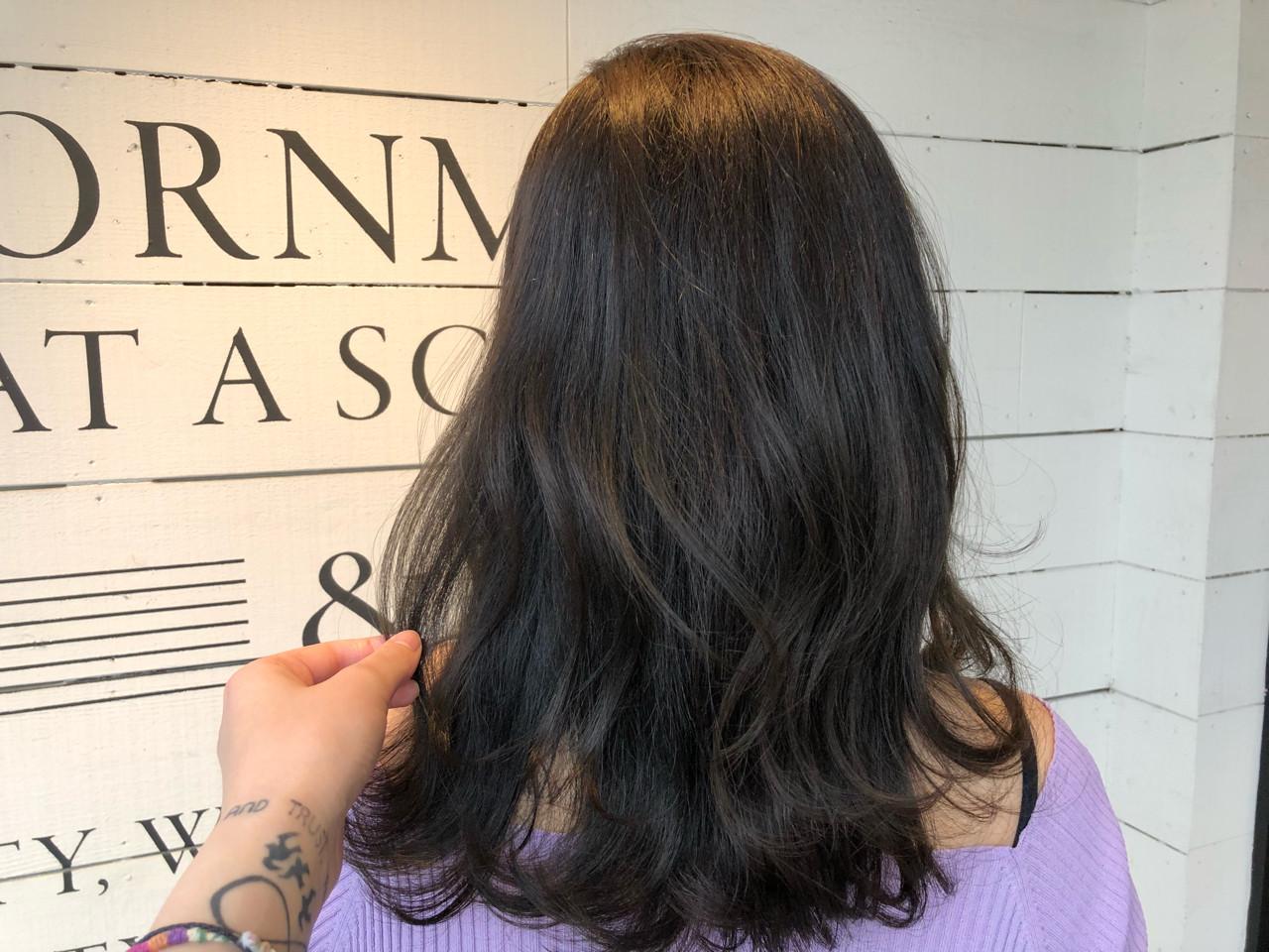 ゆるふわ ミディアム ナチュラル ヘアアレンジ ヘアスタイルや髪型の写真・画像 | ARLY / FULL A HEAD