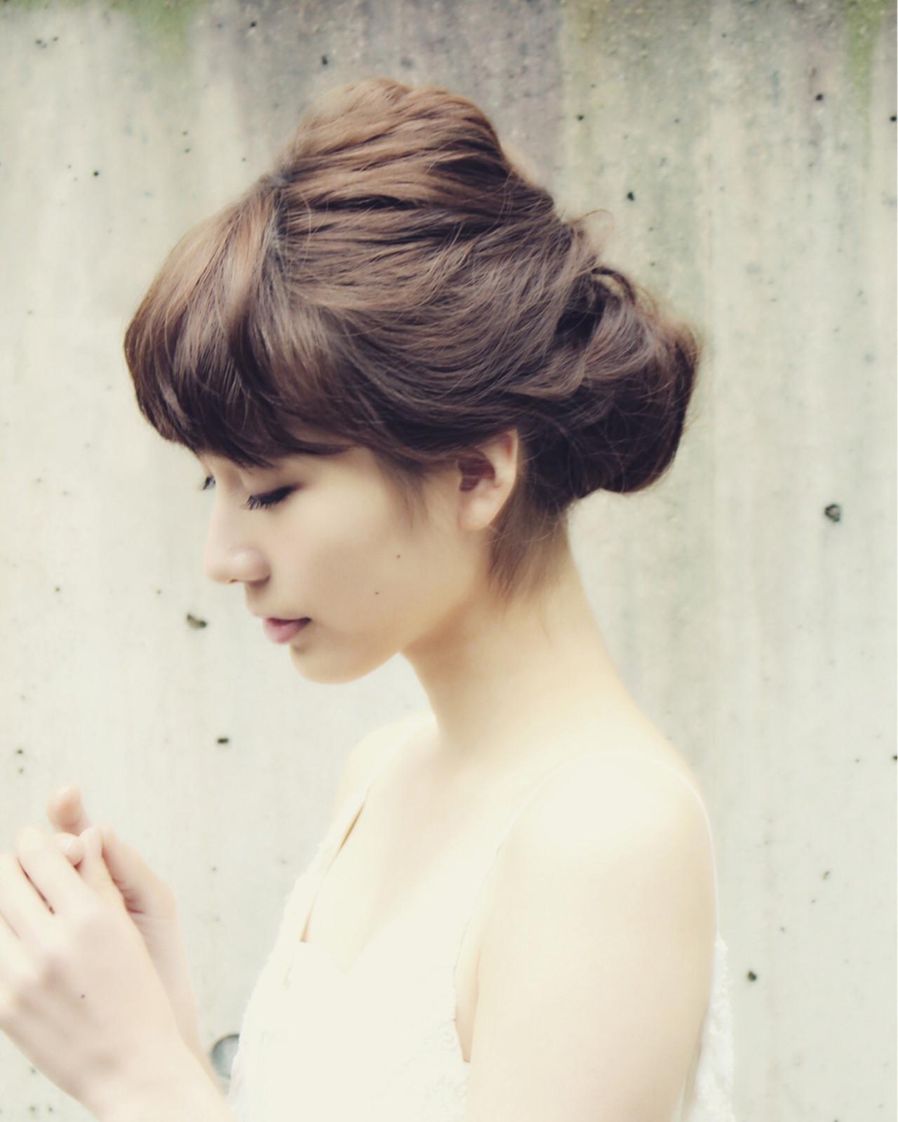 外国人風 ゆるふわ ショート ヘアアレンジ ヘアスタイルや髪型の写真・画像 | Mayumi Masumitsu / Arrange