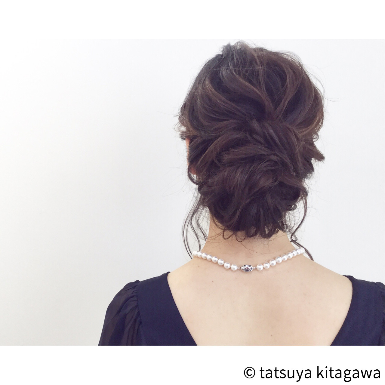結婚式 花嫁 ゆるふわ 外国人風 ヘアスタイルや髪型の写真・画像