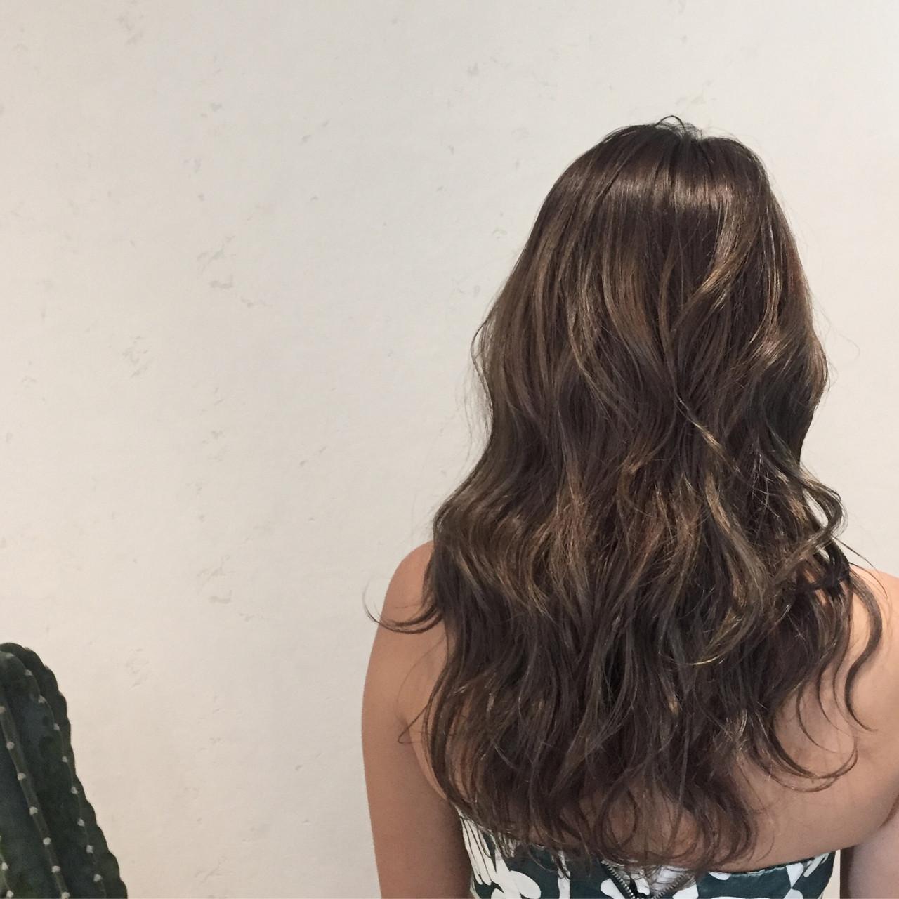 ロング 涼しげ 夏 ヘアアレンジ ヘアスタイルや髪型の写真・画像 | Misaki Arima / Hammock hair salon cocona