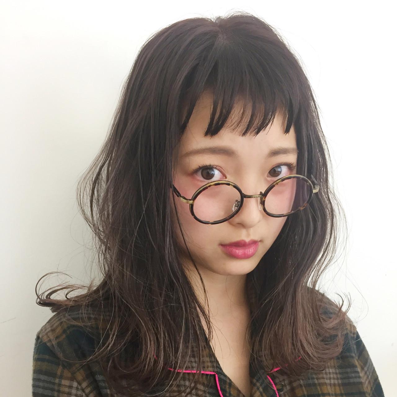 グレージュ ナチュラル オン眉 外国人風カラー ヘアスタイルや髪型の写真・画像   大石 卓 / Ticro hair