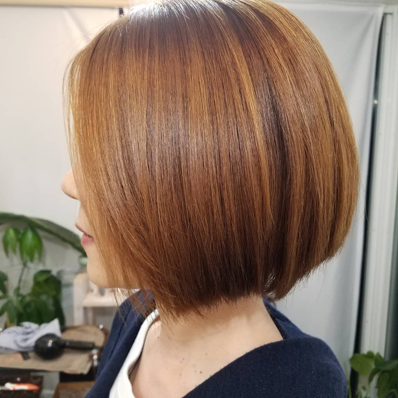 ストカール 縮毛矯正 縮毛矯正名古屋市 エレガント ヘアスタイルや髪型の写真・画像