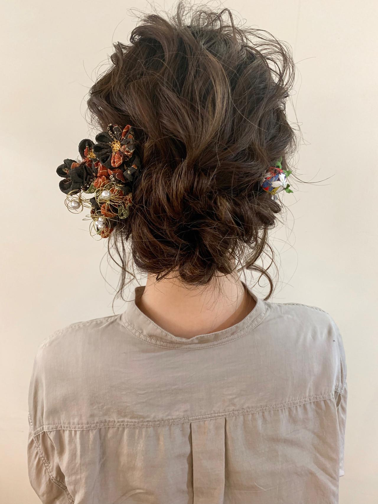 アンニュイほつれヘア ナチュラル セミロング 大人かわいい ヘアスタイルや髪型の写真・画像