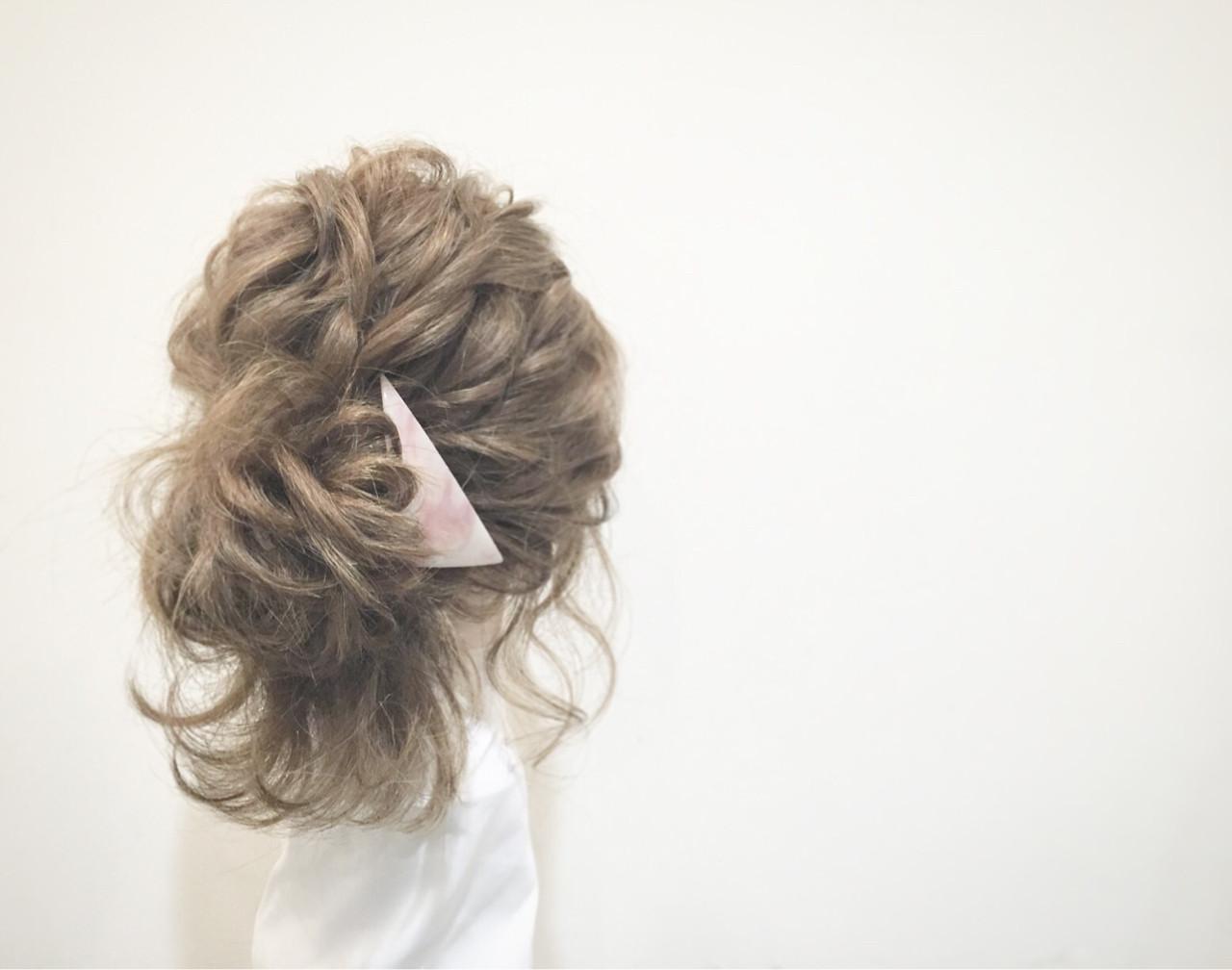 ヘアアレンジ セミロング 大人女子 大人かわいい ヘアスタイルや髪型の写真・画像