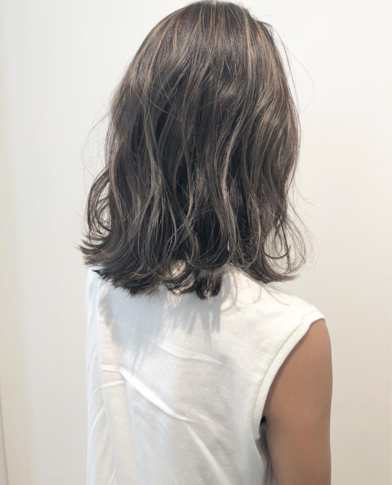 ハイライト 夏 涼しげ 外国人風 ヘアスタイルや髪型の写真・画像   市岡 久 / BLANCOtres
