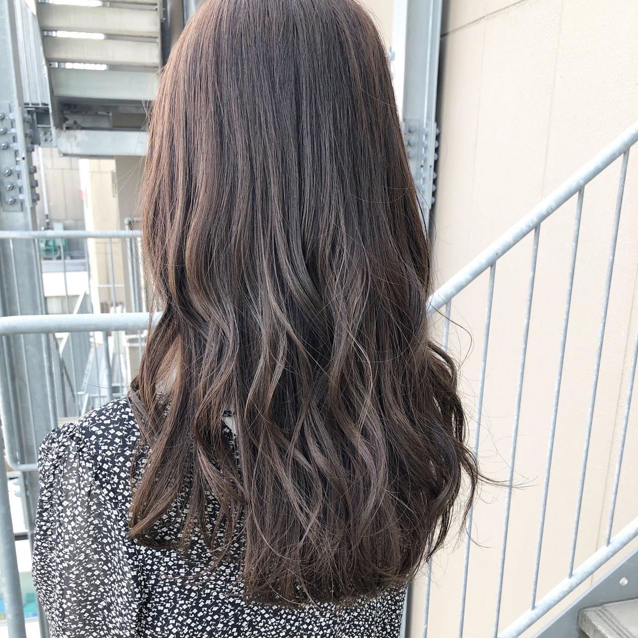 ヌーディーベージュ ミディアム デート ナチュラル可愛い ヘアスタイルや髪型の写真・画像   坂本圭太朗 / bado