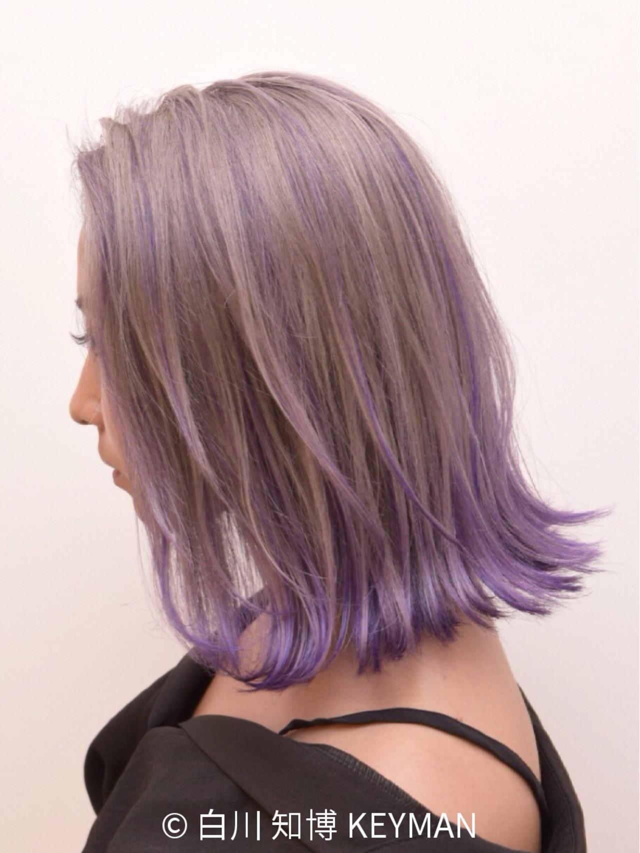 色気 ロブ スポーツ アウトドア ヘアスタイルや髪型の写真・画像 | 白川 知博 / KEYMAN