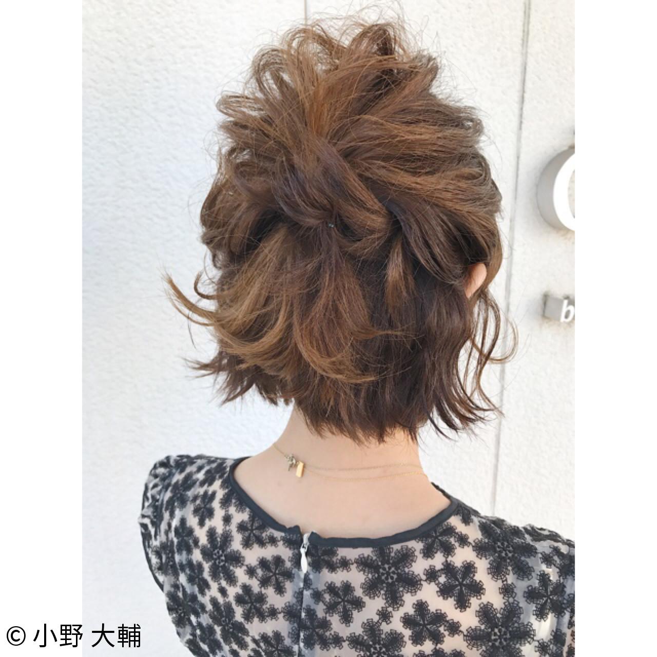 ナチュラル 色気 結婚式 涼しげ ヘアスタイルや髪型の写真・画像 | 小野 大輔 / OHIA  for plumeria