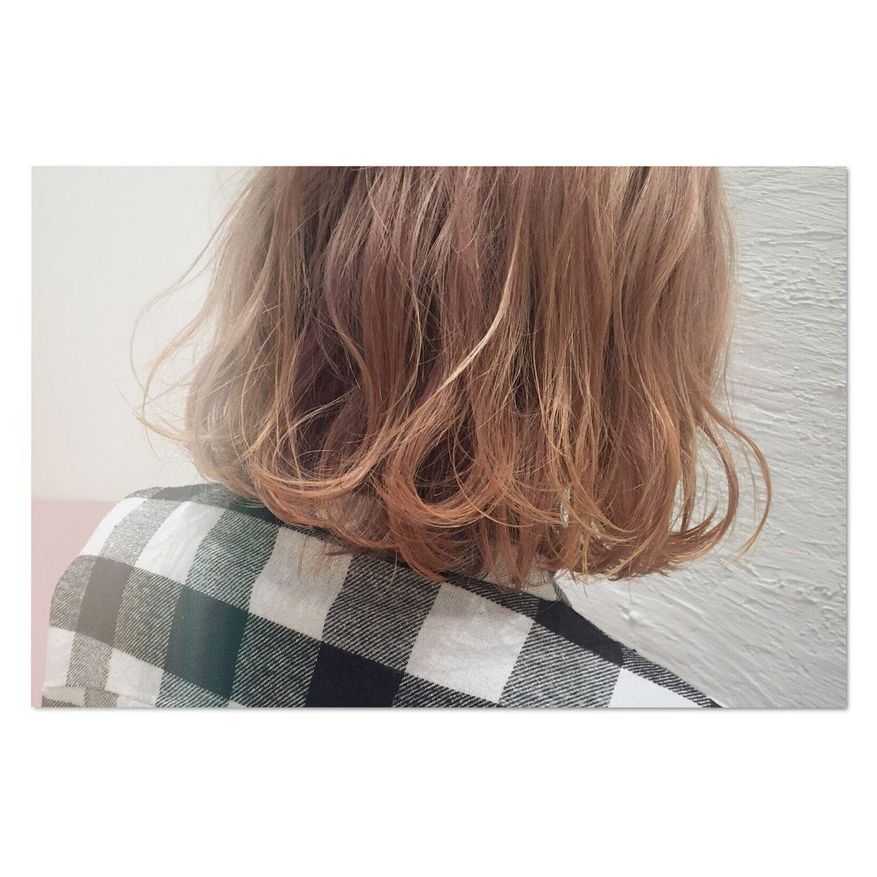 センターパート パンク ストリート ロング ヘアスタイルや髪型の写真・画像