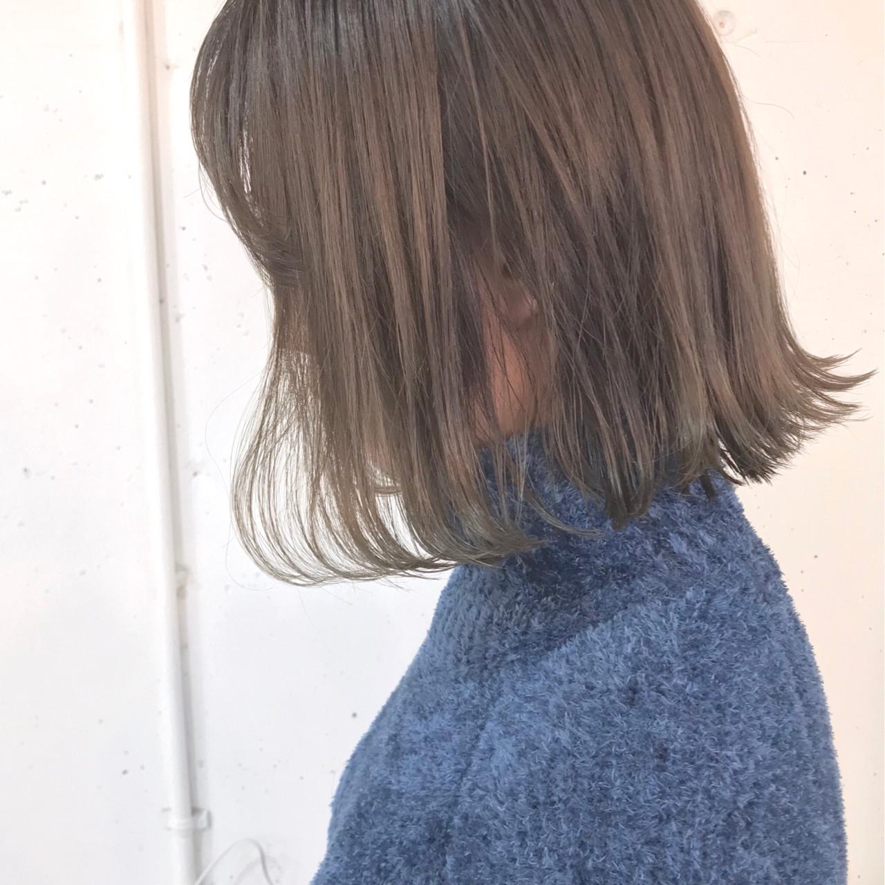 ゆるふわ 切りっぱなし アンニュイ グラデーションカラー ヘアスタイルや髪型の写真・画像 | sowi 阿部 辰也 / sowi hair design ソーイ