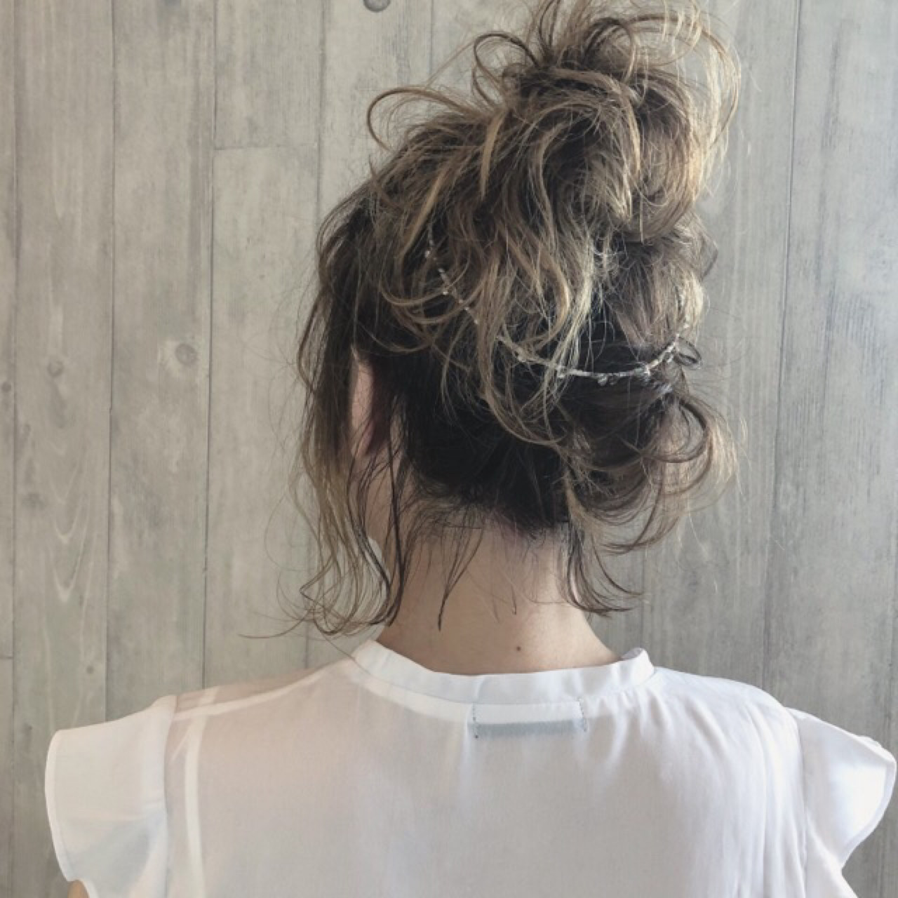 ゆるふわ 涼しげ 夏 ボブ ヘアスタイルや髪型の写真・画像