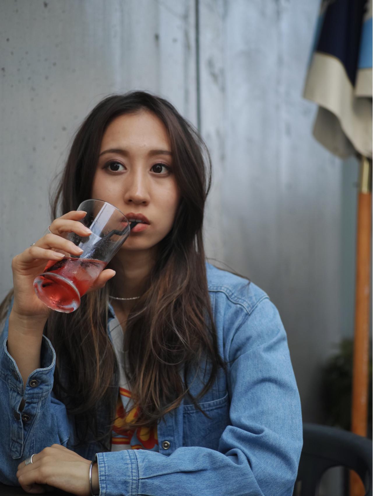 ロング ボブ オフィス 簡単ヘアアレンジ ヘアスタイルや髪型の写真・画像   カラーリスト・YuuKi Sekimoto / wherever