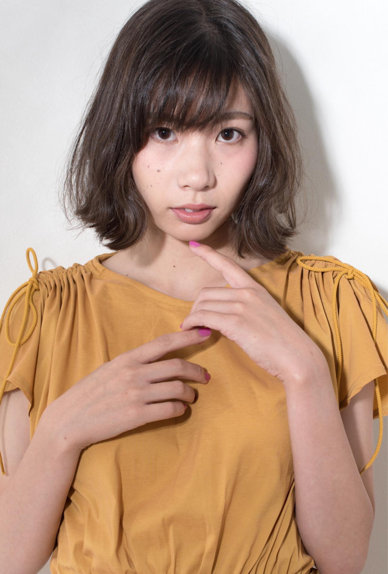 簡単 ゆるふわ 秋 フェミニン ヘアスタイルや髪型の写真・画像