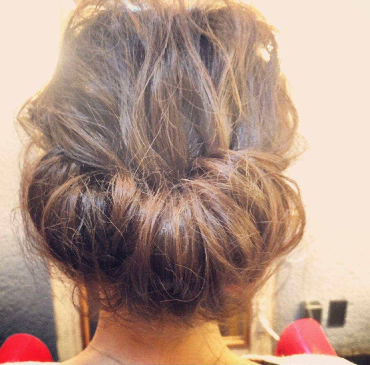 シニヨン 愛され コンサバ 大人かわいい ヘアスタイルや髪型の写真・画像 | tomonari / iroiro (イロイロ)