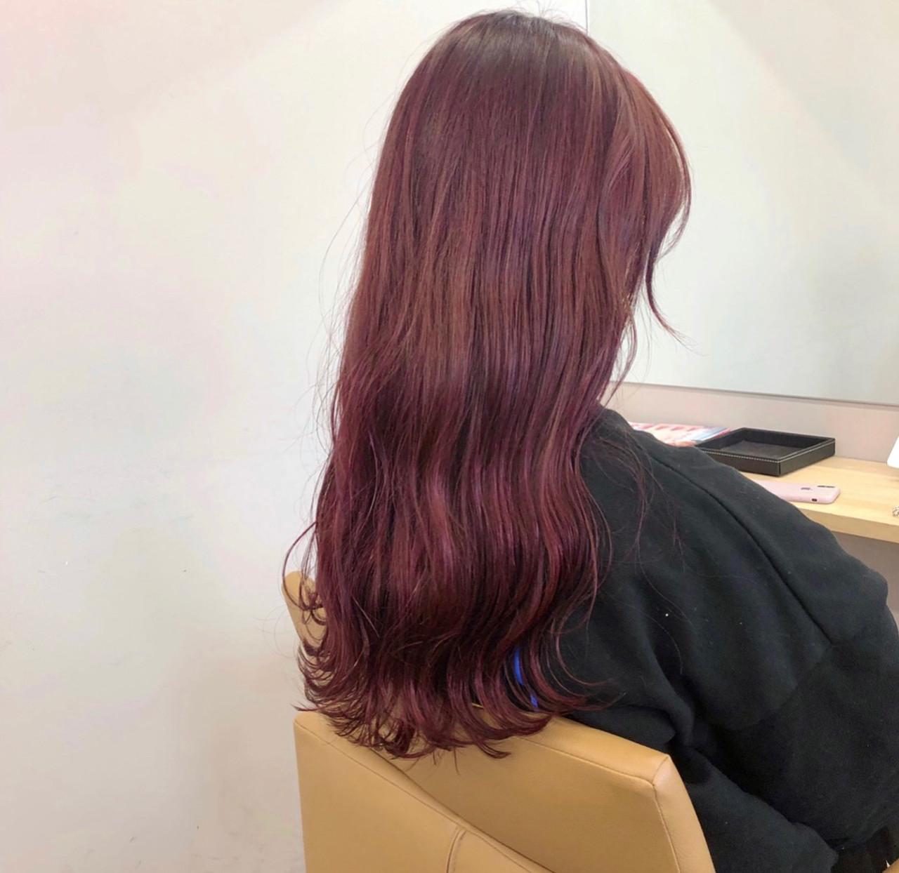 波ウェーブ ロング ストリート ヘアカラー ヘアスタイルや髪型の写真・画像