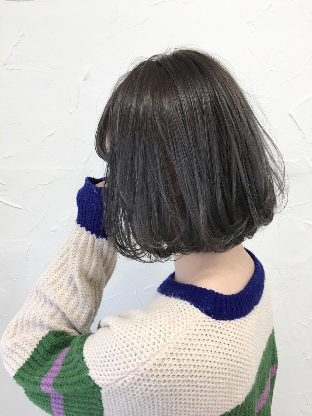 ガーリー 外国人風 グレージュ アッシュ ヘアスタイルや髪型の写真・画像   田中晋也 / prize(プライズ)表参道店