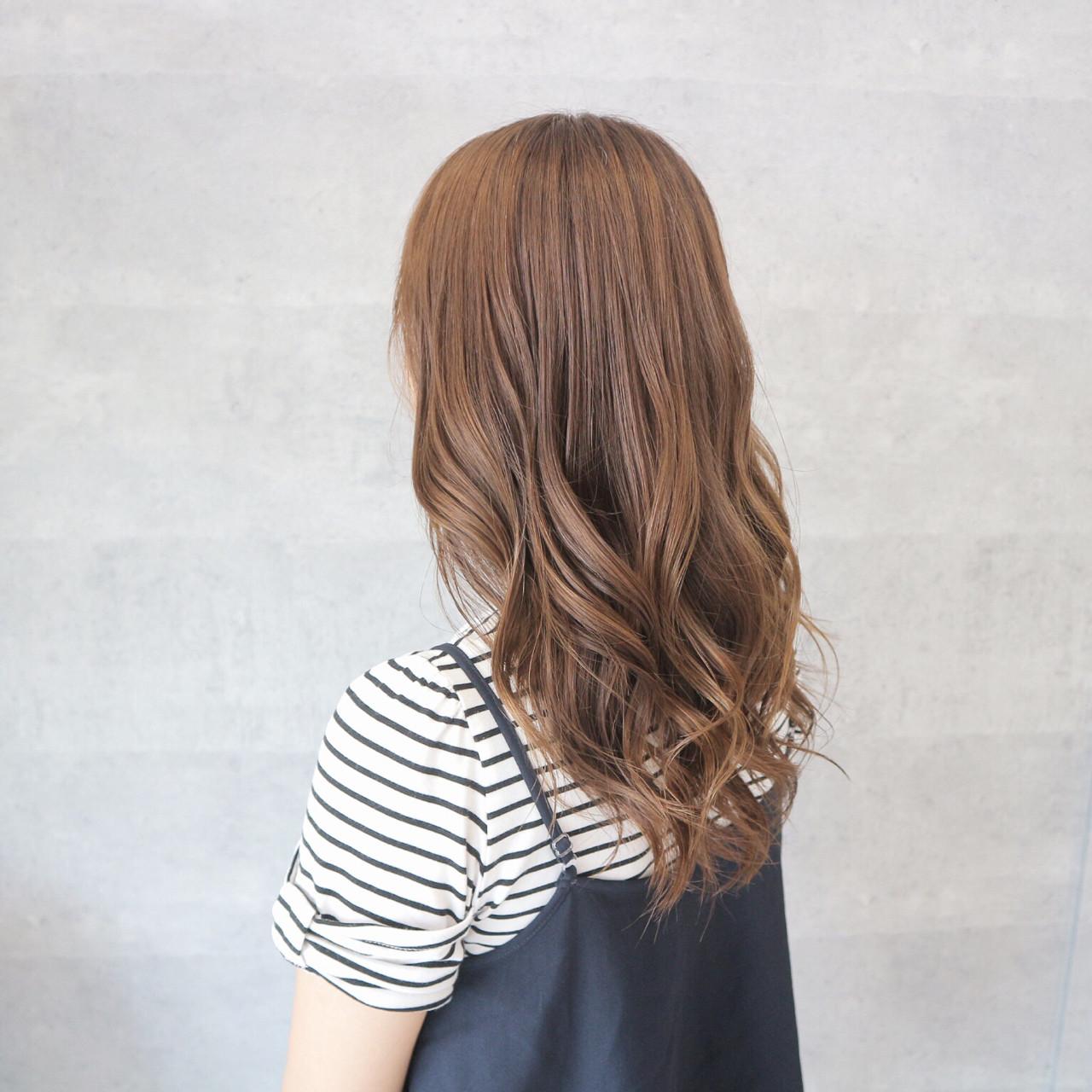 爽やか こなれ感 艶髪 アンニュイ ヘアスタイルや髪型の写真・画像