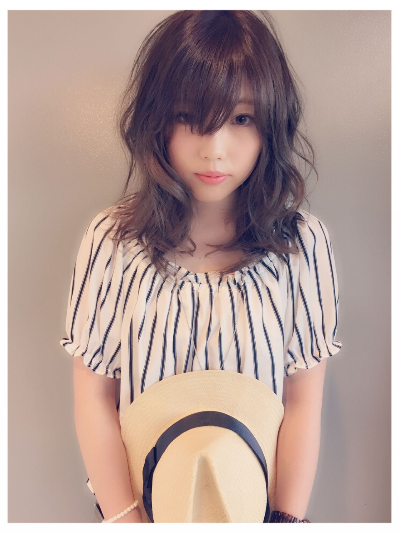 ロング 夏 涼しげ ヘアスタイルや髪型の写真・画像