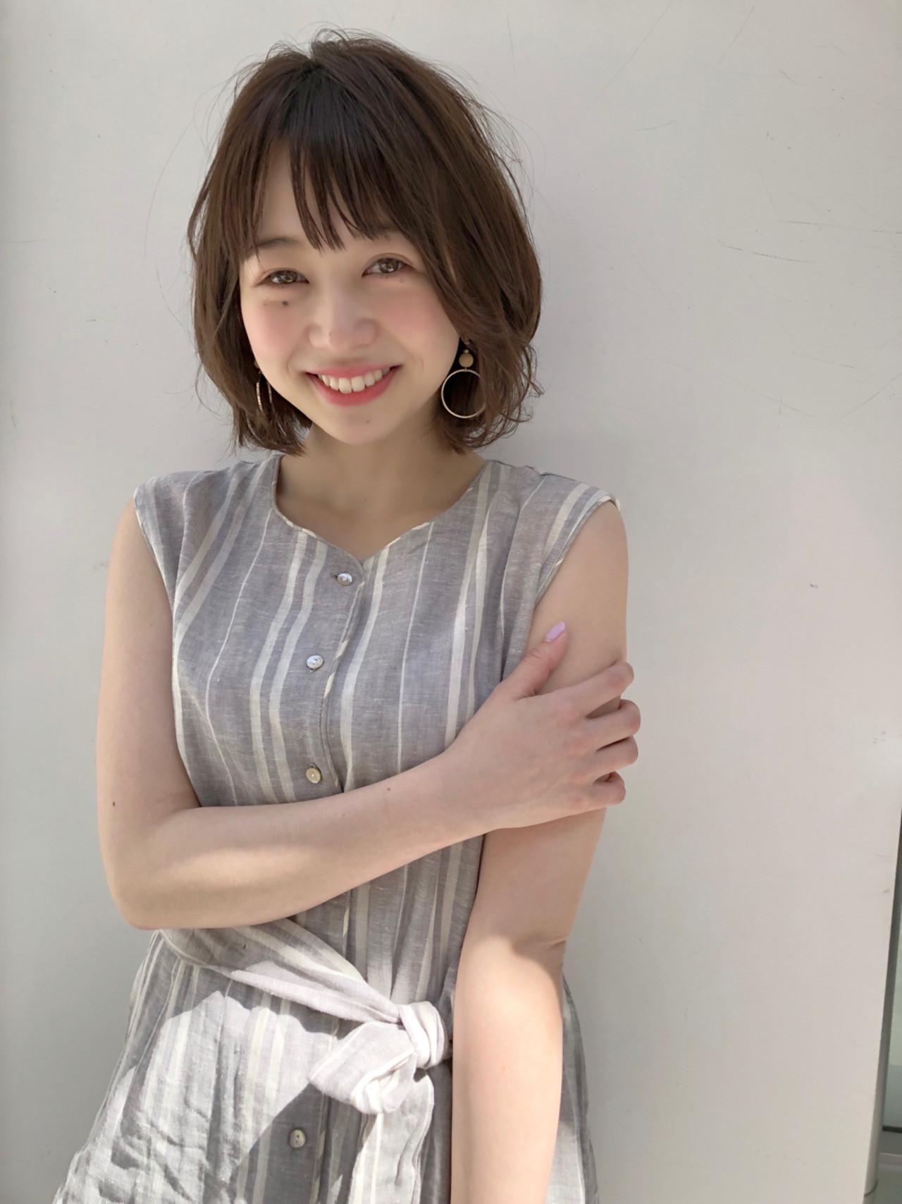 愛され アンニュイ ゆるふわ ショート ヘアスタイルや髪型の写真・画像 | ナガヤ アキラ joemi 新宿 / joemi by Un ami