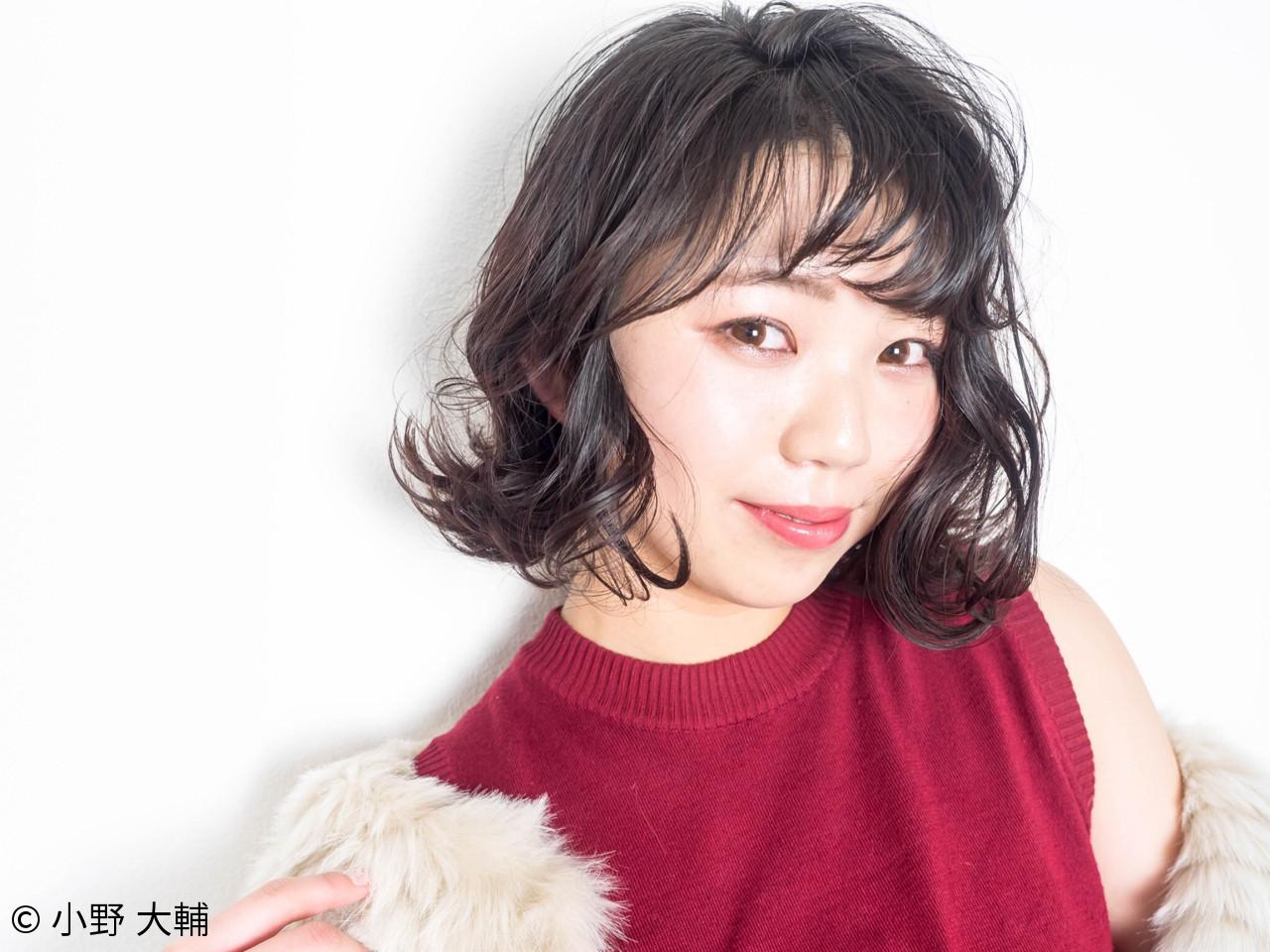 ナチュラル グレージュ 外ハネ アッシュグレージュ ヘアスタイルや髪型の写真・画像 | 小野 大輔 / OHIA  for plumeria