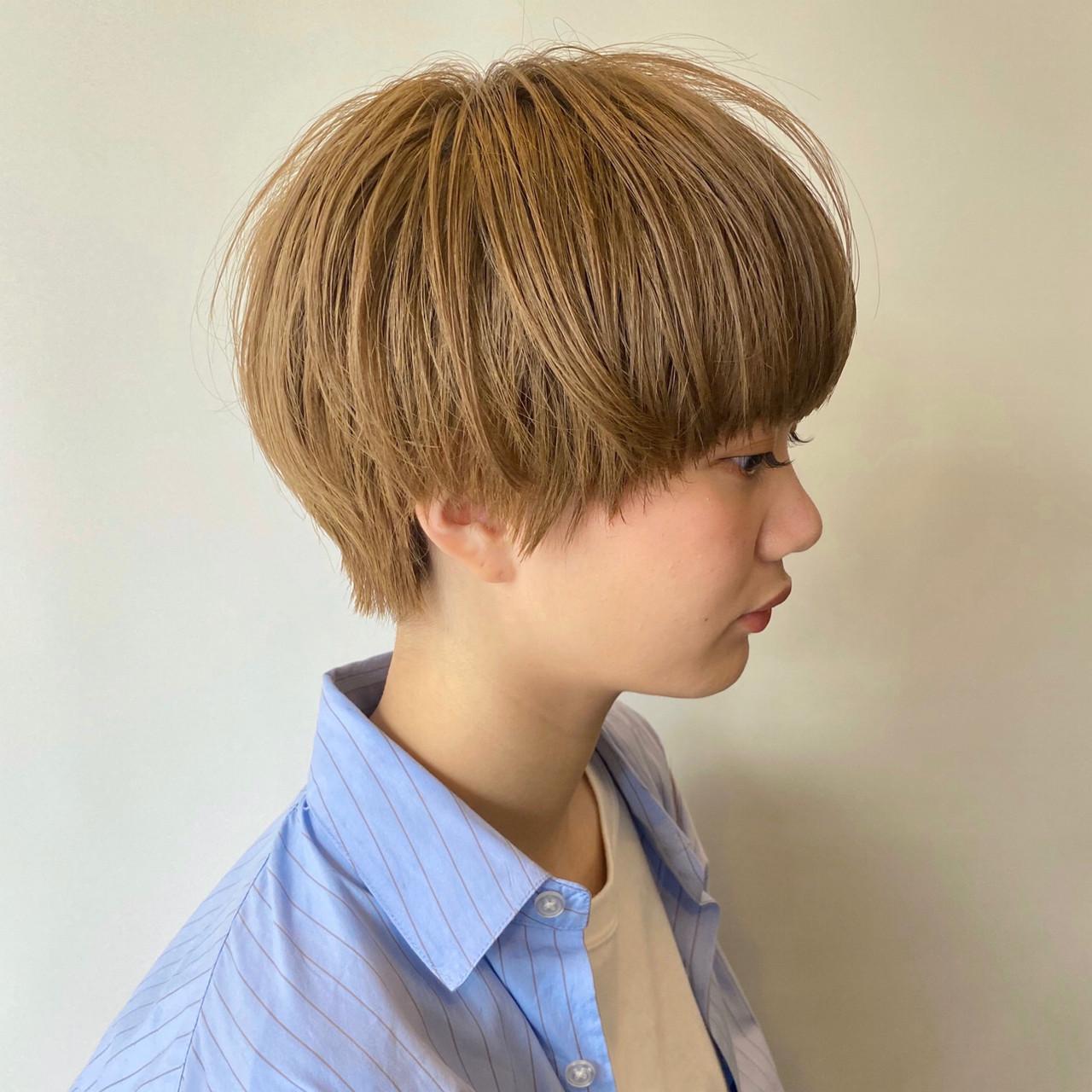 ショート ショートボブ 大人かわいい ショートヘア ヘアスタイルや髪型の写真・画像 | 【ショート&ショートボブはお任せください】淺川聖 / parc sapporo