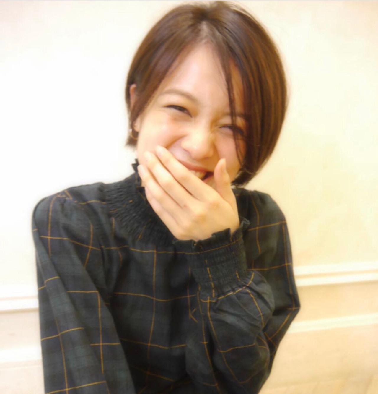 デート オフィス 前髪なし ナチュラル ヘアスタイルや髪型の写真・画像 | 坂口 南 / kakimoto arms二子玉川