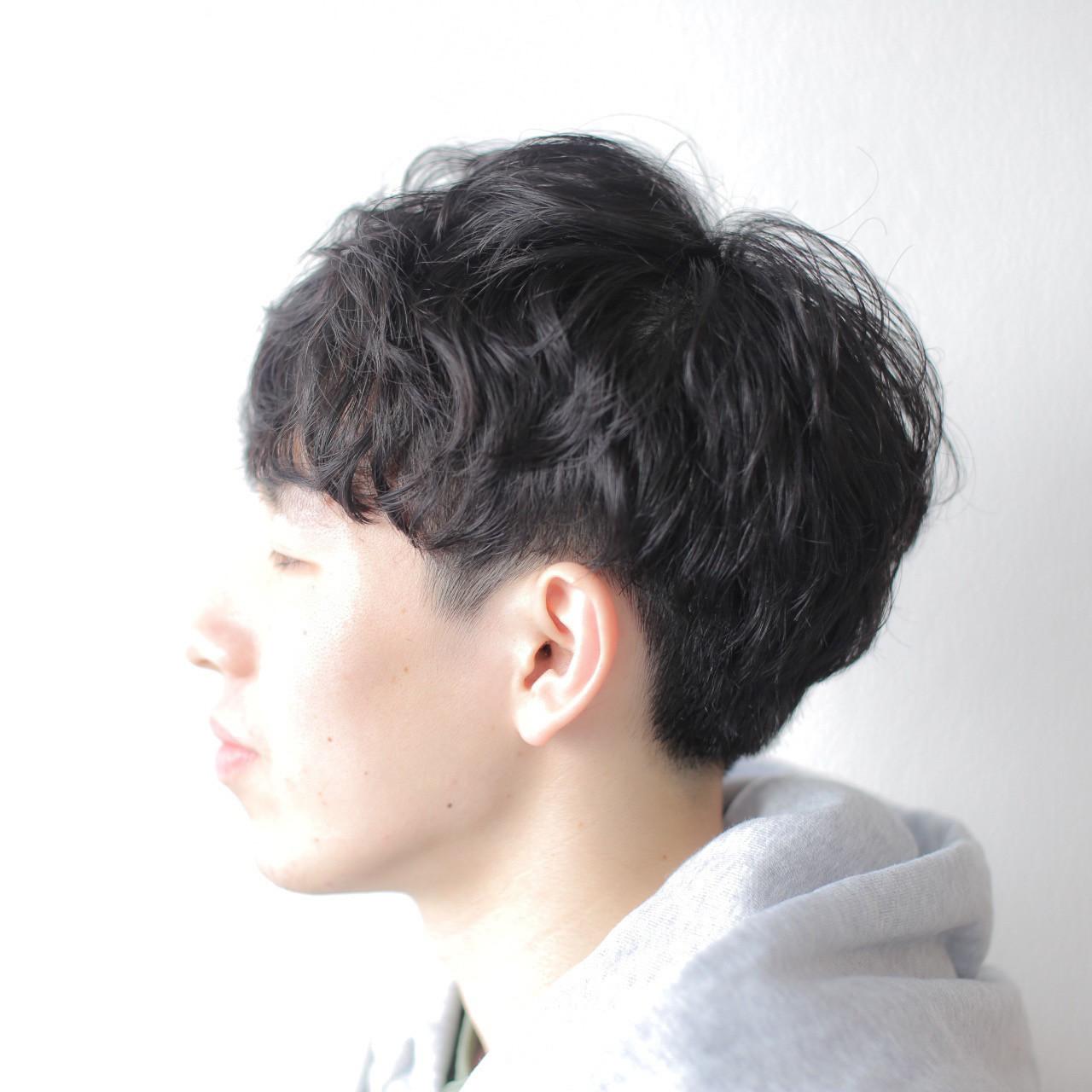 パーマ ニュアンスパーマ ゆるふわパーマ 無造作パーマ ヘアスタイルや髪型の写真・画像