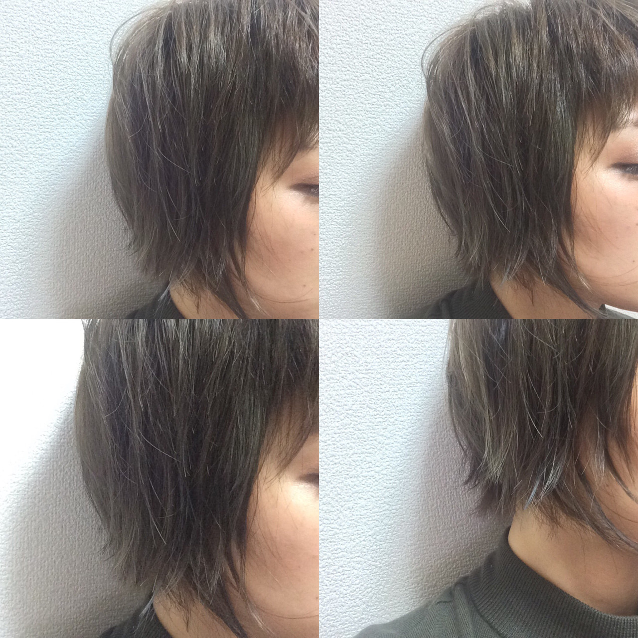 こなれ感 ニュアンス ショート 小顔 ヘアスタイルや髪型の写真・画像