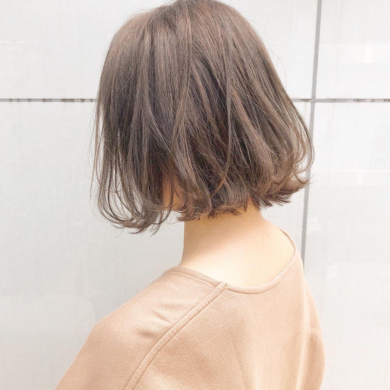 ボブ ヘアアレンジ 簡単ヘアアレンジ デート ヘアスタイルや髪型の写真・画像
