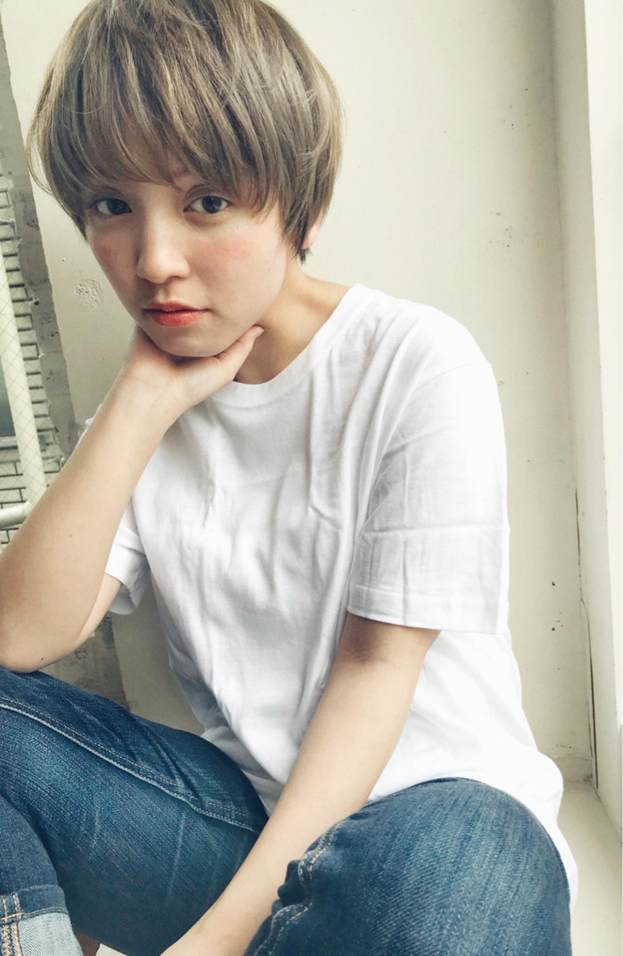 デート 前髪あり アウトドア 抜け感 ヘアスタイルや髪型の写真・画像
