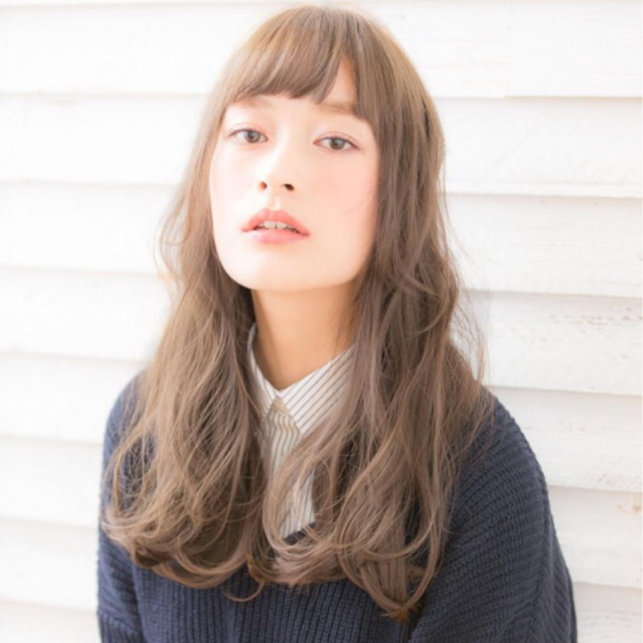 小顔 ナチュラル こなれ感 アッシュ ヘアスタイルや髪型の写真・画像 | 竹澤 優/relian青山Top stylist / relian青山