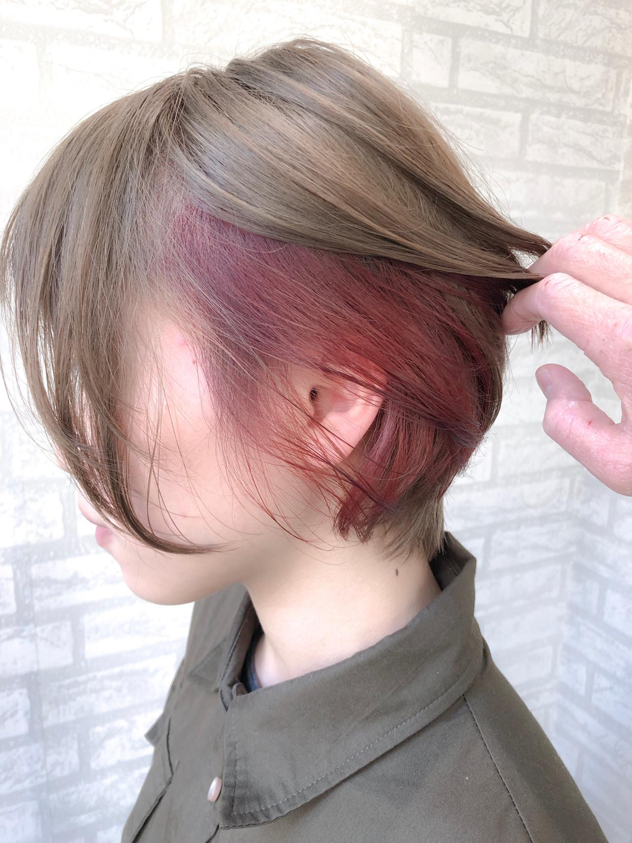 ボブ ナチュラル アンニュイほつれヘア 小顔ショート ヘアスタイルや髪型の写真・画像