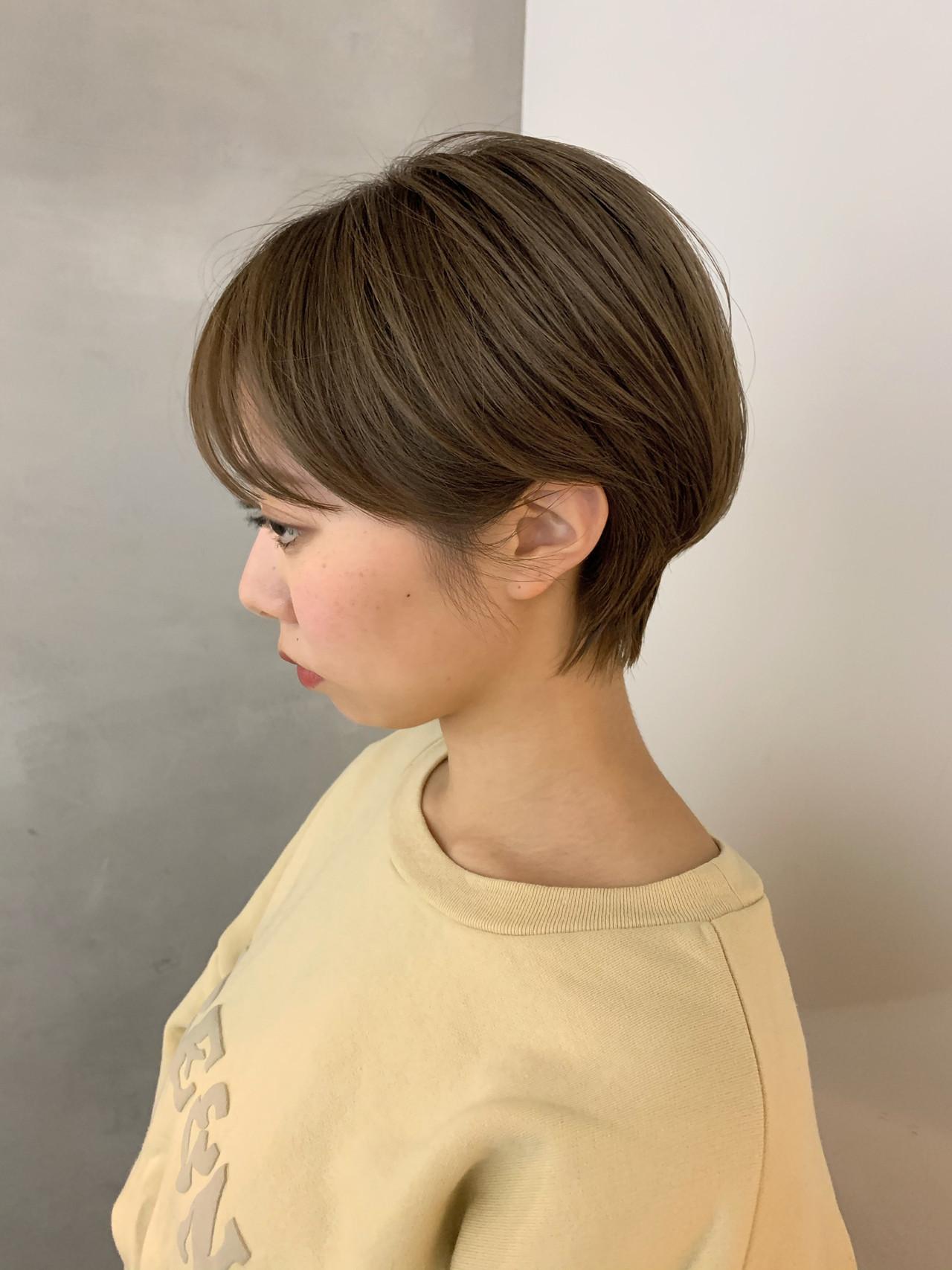 ベリーショート ショートボブ ショート ショートヘア ヘアスタイルや髪型の写真・画像 | miya/@1031miya / フリーランス(XENA)