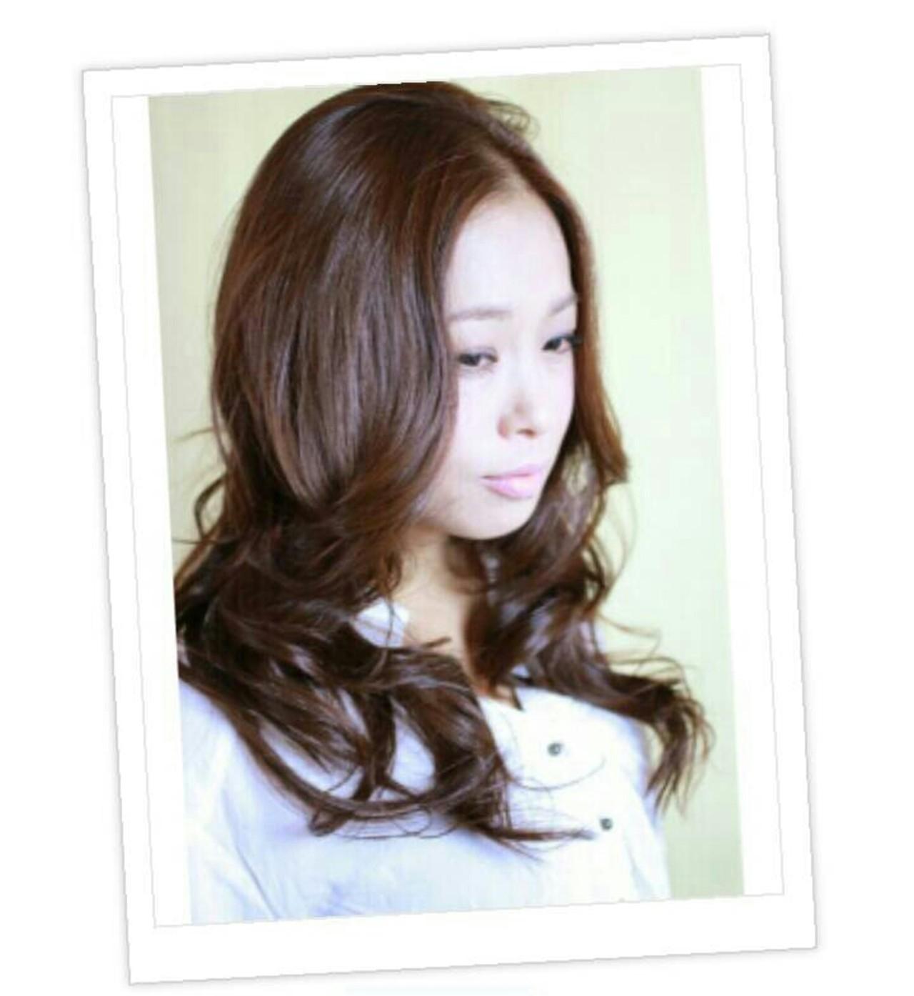 セミロング かわいい モテ髪 大人かわいい ヘアスタイルや髪型の写真・画像