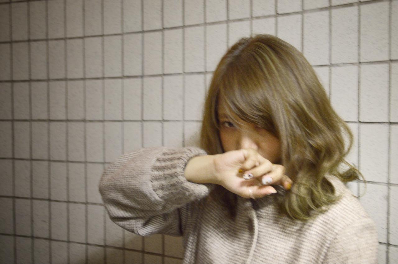 ゆるふわ グラデーションカラー フェミニン ストリート ヘアスタイルや髪型の写真・画像 | カラーリスト・YuuKi Sekimoto / wherever